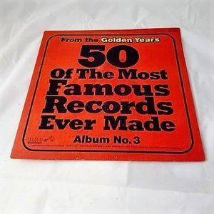 50 Of The Most Famous Records Vinyl LP Vol. 3